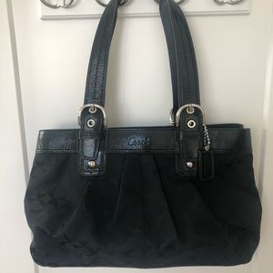Large Coach Bag Patent Leather